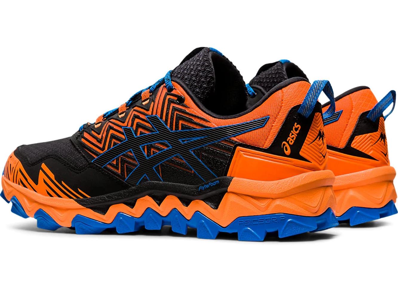 Asics GEL-FujiTrabuco 8 G-TX Herren Laufschuhe Gore-Tex Schuhe Orange